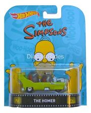 THE HOMER The Simpsons - 2016 Hot Wheels Retro Entertainment A Case DMC55*
