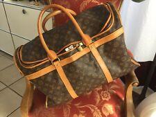 9f07375ba1e3f Louis Vuitton Beauty Bag Case Monogramm Canvas Bowling Vanity Bag VINTAGE