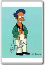 Mantegna Autographed Preprint Signed Photo Fridge Magnet The Simpsons