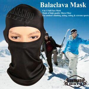 Outdoor Sports Balaclava Face Mask Windproof Warmer Ski Neck Cover Full Mask
