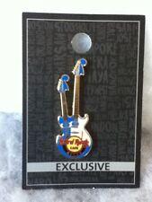 Hard Rock Cafe Pin Macau Double Headstock Guitar 2016