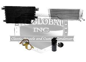 "71 72 Chrysler Dodge Fury Condenser Evaporator 3441614 EC5777 AC3120 w/26"" rad"