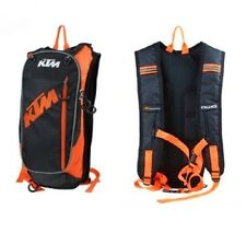 New Black KTM Motorcycle Bike Riders Drinking Backpack Water Bag Hydration Pack