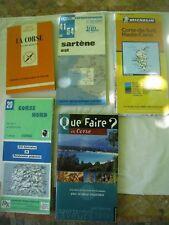 LOT CORSE: Tourisme - Que Faire en Corse. Cartes IGN Michelin Que sais-je