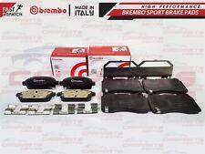 Per VAUXHALL ASTRA GTC J MK6 Vxr Anteriore Posteriore Originali Pastiglie Freno Brembo SERIE