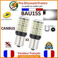 2 x ampoule CANBUS 144 LED BAU15S BLANC Voiture Feux Jour Ampoules SMD PREMIUM