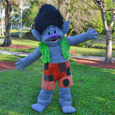 BRANCH TROLLS GNOME MASCOT COSTUME ADULT SIZE HIGH QUALITY
