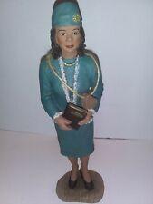 Sarahs Attic - Corretta Scott King - Licensed- African American Figurine