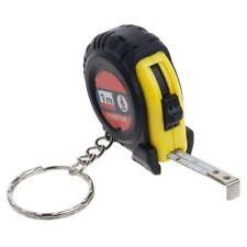 2 stücke Mini Retractable Maßband Lineals Portable Ziehen Lineal-Keychain-1m