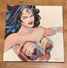 Wonder Woman Comic Superhero 18 x 18 Pop Art Painting Cargill