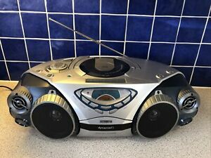 Portable Philips Dynamax 2 Stereo CD Radio Player Dynamic Bass Boost Surround