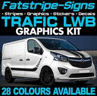 RENAULT TRAFIC MK3 LWB GRAPHICS STICKERS DECALS STRIPES DAY VAN CAMPER L2 D