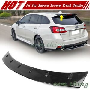 2019 For SUBARU Levorg Wagon 5DR Rear Trunk Spoiler Wing Painted ABS
