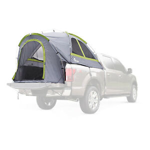Napier Backroadz Full Size Short Bed 2 Person Truck Tent for Camping, Gray/Green