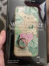 Wildflower Floral Print Limited Edition I Phone 6 7 8 Case