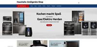 NEU - Webshop Küchen Großgeräte - 1417 Artikel - Wordpress Amazon Affiliate -NEU