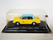 Miniature IXO Véhicule Altaya Taxi du Monde Simca 1000 Alger 1962 Diecast