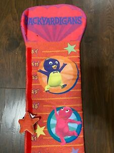 "Backyardigans Child's Growth Height Chart Up to 5'1"" Tall - Nickelodeon Cartoon"