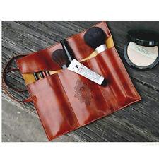 Korea Style Vintage Pencil Pen Phone Cosmetic Makeup PU Case Bag Pouch Purse Hot
