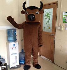 2018 Adversting Bullfighting Mascot Costume Animal Cow Bull Party Dress Suit