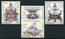 Romania 2017 MNH Art in Royal Dining Peles National Museum 4v Set Stamps