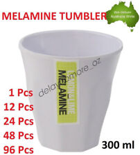 300 ml Melamine Tumblers Cup Drinking Tumbler Water Cups White Mug Coffee Party