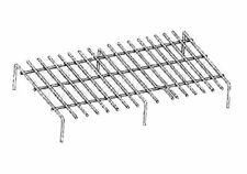 """BroilMaster Briquet Rock Grate For Gas Grills 18 1/4"""" x 11 1/2"""" BG-18"""