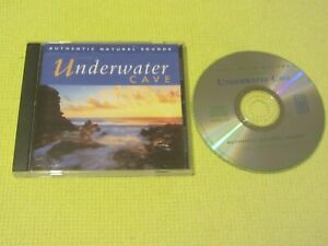 Authentic Natural Sounds Underwater Cave CD Album Relax With Nature Chillout