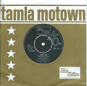 Diana Ross:Love me/Save the children:UK Tamla Motown:TMG 917
