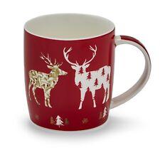 Cooksmart Christmas Mugs - Gin, Red Robin, Highland Stag, Bah Humpug