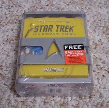 NEW Star Trek: The Original Series Season 1 (DVD/HD, Remastered) One **DAMAGED**
