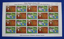 Palau (#399-400) 1996 Summer Olympics, Atlanta MNH sheet