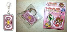 Card Captor Sakura Trading Key Chain Sakura Card Takara Tomy Arts Clamp Licensed
