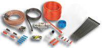Stinger SK4681 Car Stereo 4000 Series 8 Gauge Wire Amp Install Kit & Rca Cables