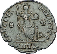 THEODOSIUS I the GREAT Genuine 378AD Authentic Ancient Roman Coin  i65864