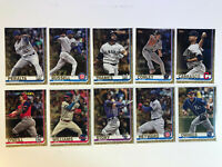 Topps Series 2 (10) Card Lot Gold Parallel /2019 Baseball Cards Story SP