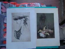 2 EX LIBRIS 1990 DELL' ARTISTA DELLA REP. CECA BOHUMIL KRATKY CON FIRME AUTORE