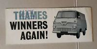 Ford Thames 10/12 & 15 cwt Vans & Chassis Brochure