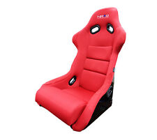 NRG Red Large Fiberglass Bucket Seat FRP-300RD
