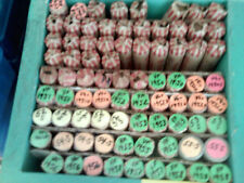 24 rolls of Very Fine  or better Lincoln Wheat Cents. 1950-P to 1958-D.
