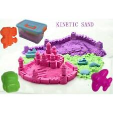 Canadian Seller! 6LB Kinetic Sand Set 3 colors W/ 2 Mold kits and Play Space