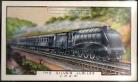 The Silver Jubilee London and North Eastern Railway 80+ Y/O Ad Trade Card