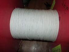 Raychem 44/0414-24-9CS2251 24 awg. SPC wire White 2550ft.