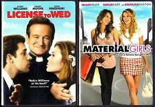 License To Wed (DVD, 2007) & Material Girls - 2 Romantic Comedy DVDs
