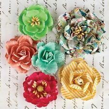 PRIMA Divine Paper Rose Flowers w/Glitter 565251