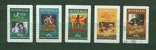 AUSTRALIA 1995 USED SC.1446/50 Motion Pictures Cent.