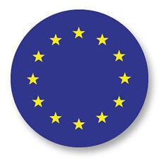 "Pin Button Badge Ø25mm 1"" Drapeau Flag Echarpe Maillot Europe European Union EU"