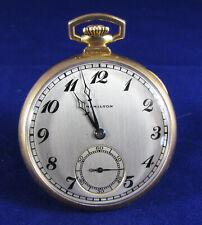 Hamilton Wadsworth 14k Gold Filled Pocket Watch