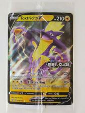 Toxtricity V SWSH 070 JUMBO Black Star Promo Holo Sealed Pokemon Card STAMP