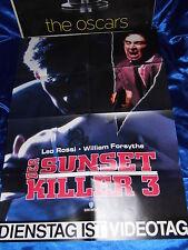 Der SUNSET KILLER 3 - Leo Rossi -Filmposter A1(59x84 Plakat Poster F6